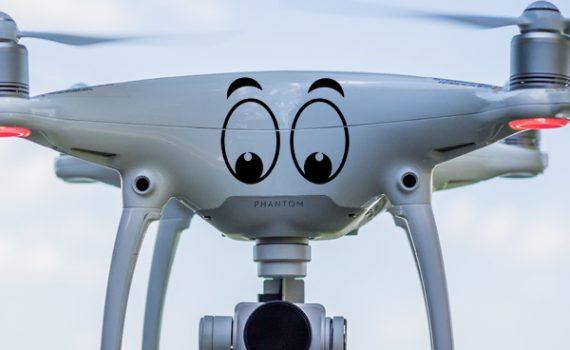 vinilos decorativos y pegatinas para drones