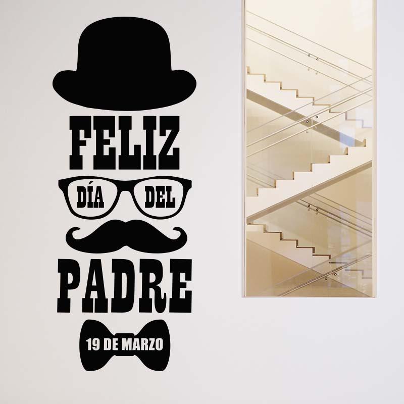 Vinilos pared d a del padre blog de decoraci n con for Decoracion x el dia del padre
